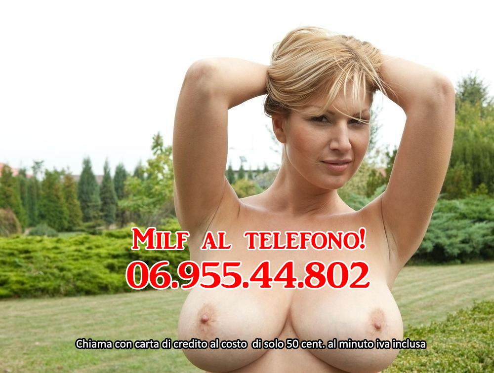 milf al telefono basso costo